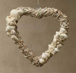 Hanging Heart - natural