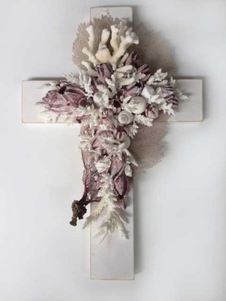 Barnacle Cross - Shabby Chic Timber