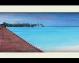 Boardwalk (black frame)