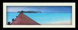Boardwalk (black frame)