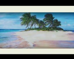 Island Breeze (black frame)