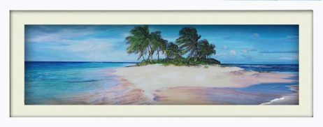 Island Breeze (white frame)