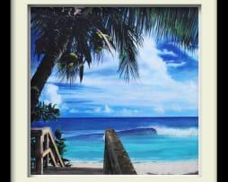 Paradise (black frame)