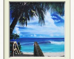 Paradise (white frame)