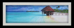 Seabreeze Hut (black frame)