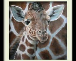 Giraffe (black frame)