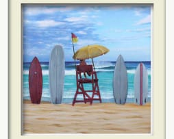Lifeguard (white frame)