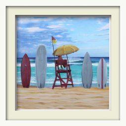 Lifeguard (white frame)