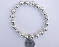Silver Bracelet - 'Peace' Charm