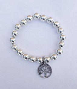 Silver Bracelet - 'Tree of Life' Charm