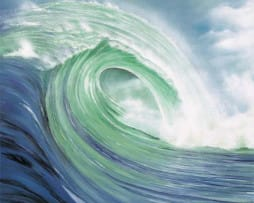 The Wave on Canvas