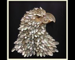 Eagle Shell Art
